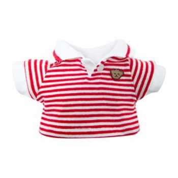 Striped Polo Logo Shirt