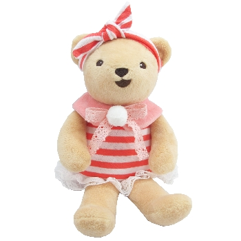 Teddy bear with dress