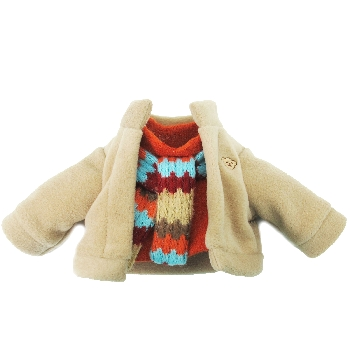 Boys Winter Top with Scarf