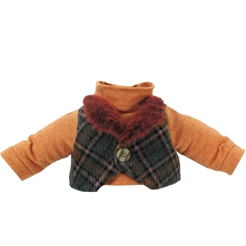 Boys Winter Top with Waist Coat