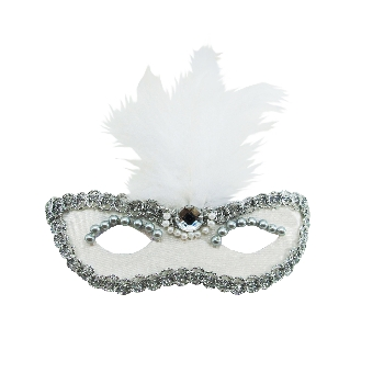 Fancy Feather Mask