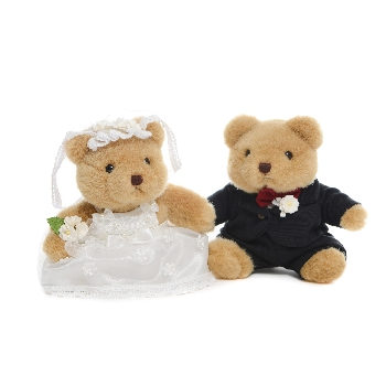 "Bride&Groom (Teddy in Love 5"")"