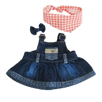 Denim Dungarees Dress